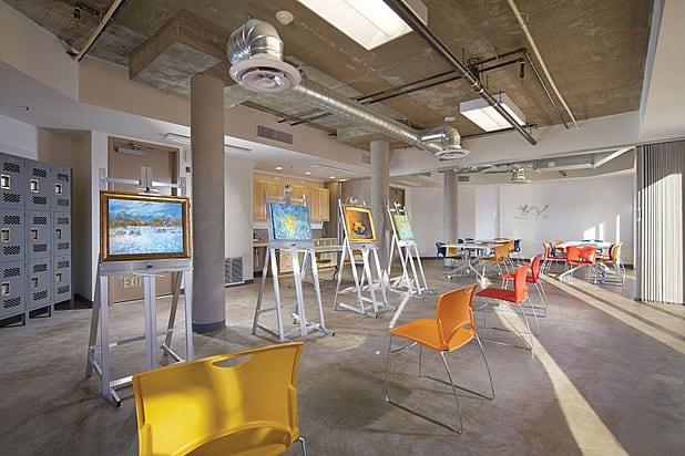 NoHo Senior Arts Colony Art Studio