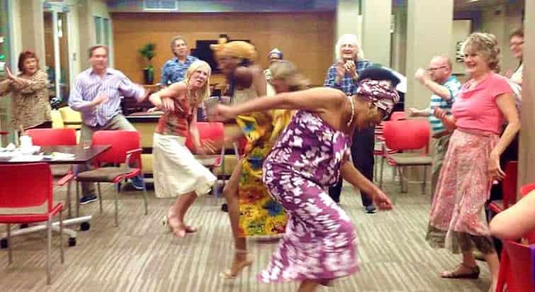 NoHo Senior Arts Colony Dancing